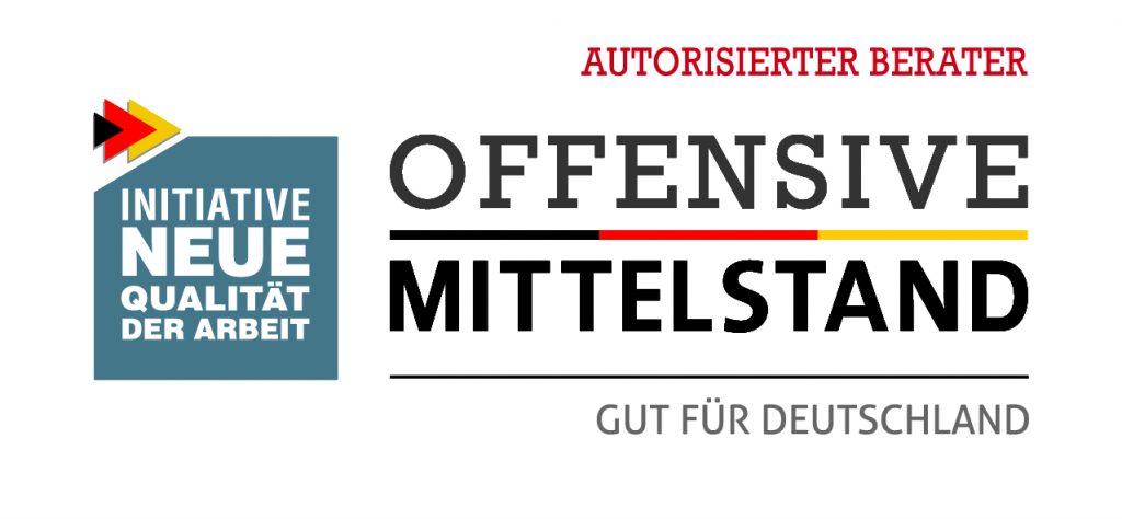 Logo Offensive Mittelstand - Sven Löbel ist autorisierterBerater